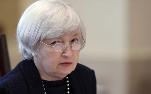 Chủ tịch FED Janet Yellen.