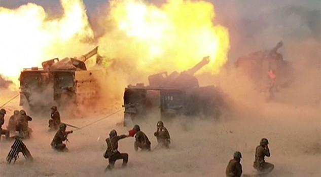 Một cuộc tập trận bắn đạn thật của Triều Tiên. (Ảnh: KCNA)