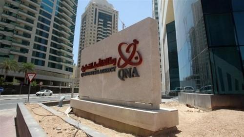 Hãng thông tấn Qatar hồi tháng 5 bị đột nhập mạng, đăng những thông điệp giả mạo có liên quan đến Vua nước này. Ảnh:Reuters.