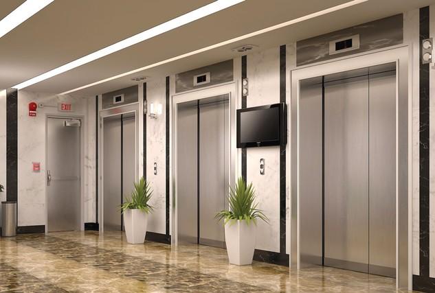 Gói thầu mua sắm thang máy vận chuyển bệnh nhân, khách hàng và tải hàng thuộc Dự án Đầu tư xây dựng cải tạo, nâng cấp Bệnh viện Đa khoa Vĩnh Long. Ảnh: V.L