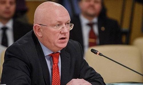 Đại sứ Nga tại Liên Hợp Quốc Vassily Nebenzia. Ảnh:weaponews.com