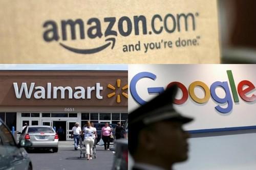 Amazon và Walmart đang chạy đua trong việc giành lấy sự chú ý của người tiêu dùng bằng cách không ngừng cho ra những công nghệ mua sắm mới.