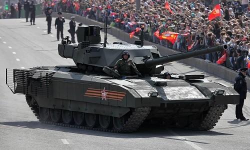 Dòng tăng thế hệ mới Armata của Nga. Ảnh:Sputnik.