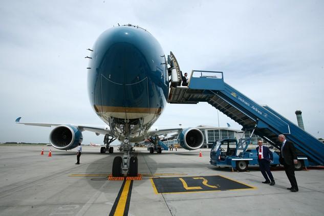 Tổng công ty Cảng hàng không đã tổ chức thành công phiên đấu giá 77,8 triệu cổ phần trong năm 2015. Ảnh: Lê Tiên