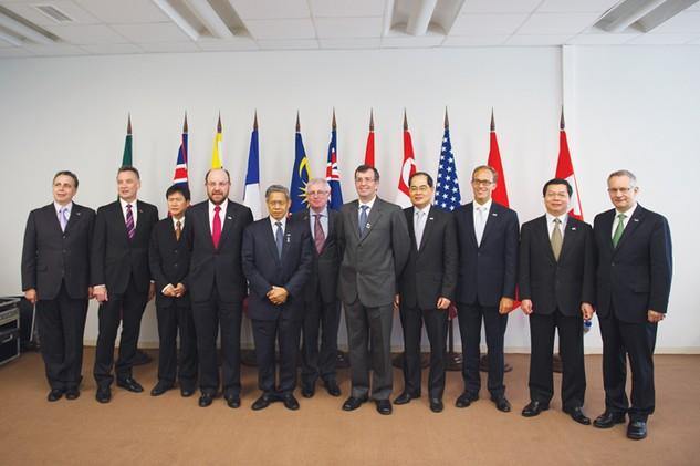 Bộ trưởng các nước tham gia đàm phán TPP