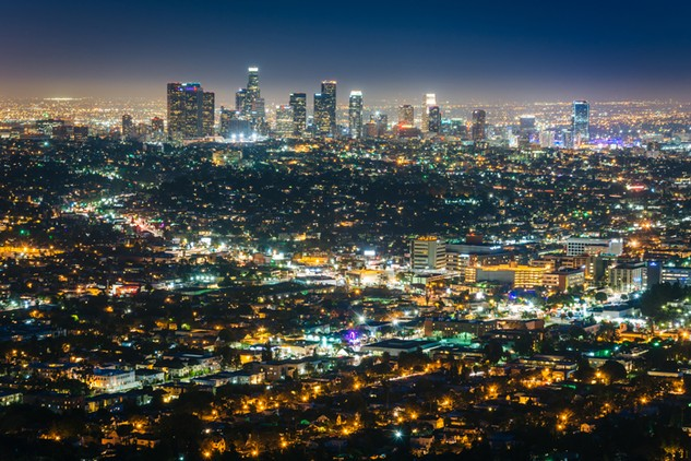 Tầm nhìn lộng lẫy hướng vào khu trung tâm Los Angeles (Mỹ) có thể đáng giá cả triệu đô