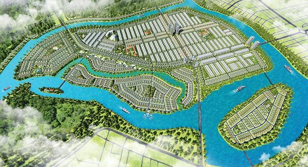 Phối cảnh Khu đô thị sinh thái Nam Hòa Xuân, thành phố Đà Nẵng