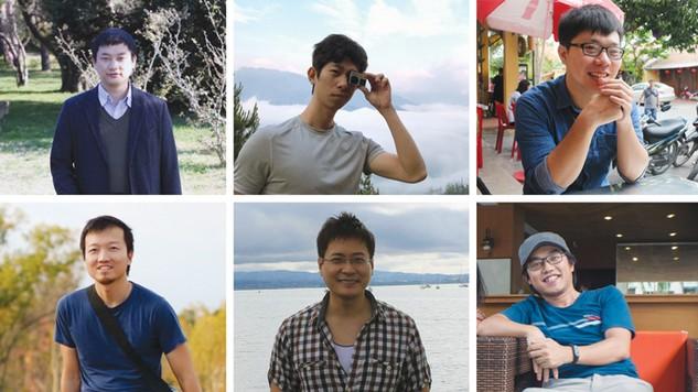Nhóm tác giả vừa giành giải nhất Công nghệ thông tin hệ thống triển vọng của Giải thưởng Nhân tài Đất Việt năm 2016