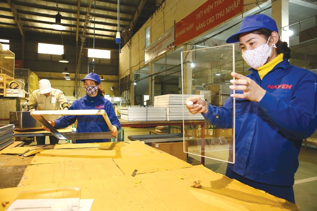 Đóng góp của khu vực kinh tế tư nhân là tạo việc làm, đáp ứng nhanh nhạy nhu cầu thị trường. Ảnh: Lê Tiên