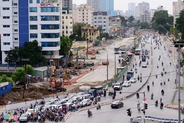 Đường Trường Chinh (Hà Nội)có nhiều đường cong, gấp khúc. Ảnh: ST.