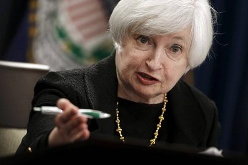 Chủ tịch FED - bà Janet Yellen. Ảnh: Reuters