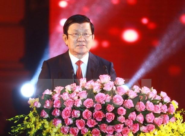 Chủ tịch nước Trương Tấn Sang. (Ảnh: Doãn Tấn/TTXVN)