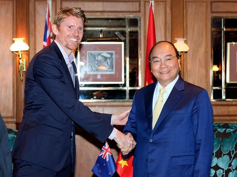 Thủ tướng tiếp các tập đoàn lớn của New Zealand - ảnh 1