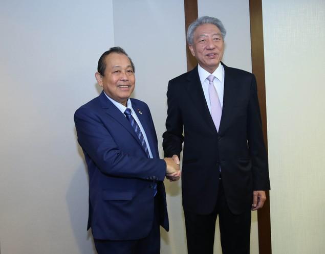 Phó Thủ tướng tiếp xúc lãnh đạo các nước dự Hội nghị Tương lai châu Á - ảnh 2
