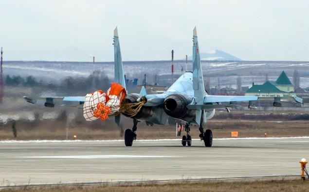 Tiêm kích Su-30 Nga tập luyện tiếp dầu trên không - ảnh 10