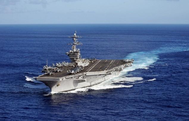 Sức mạnh cụm tàu sân bay chiến đấu Mỹ đang tuần tra Biển Đông - ảnh 1