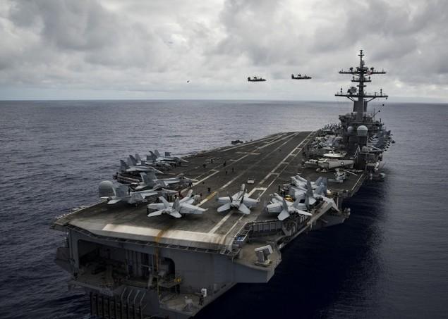 Sức mạnh cụm tàu sân bay chiến đấu Mỹ đang tuần tra Biển Đông - ảnh 3