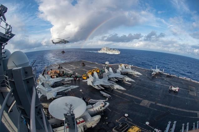 Sức mạnh cụm tàu sân bay chiến đấu Mỹ đang tuần tra Biển Đông - ảnh 4