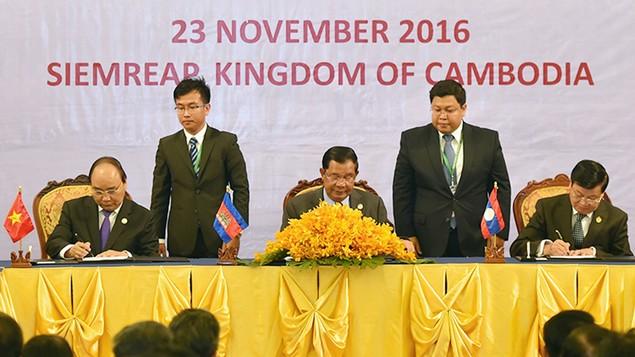 Hội nghị CLV 9: Thủ tướng nêu 7 đề xuất hợp tác triển khai nhanh - ảnh 1