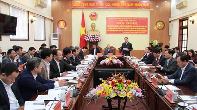 Công bố kết quả kiểm tra, giám sát các vụ án tham nhũng, kinh tế nghiêm trọng tại Thái Nguyên - ảnh 1