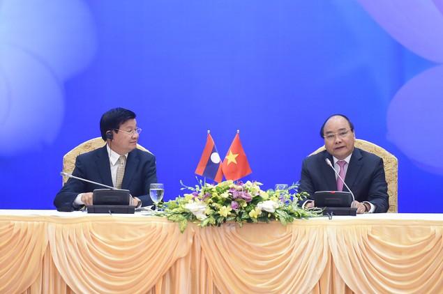 Lần đầu tiên Thủ tướng Việt, Lào chủ trì họp Ủy ban liên Chính phủ - ảnh 3