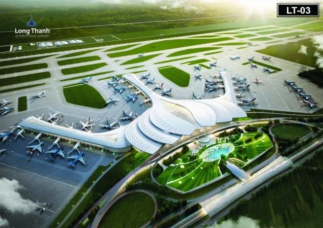 Trình Chính phủ phương án kiến trúc nhà ga CHK quốc tế Long Thành - ảnh 1