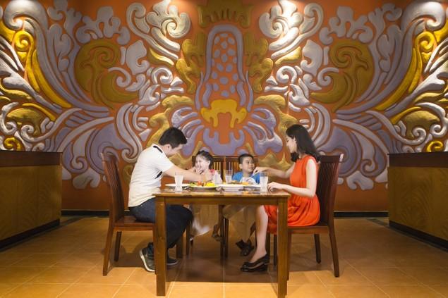 Điều đặc biệt của nhà hàng nằm giữa công viên Asia Park - ảnh 3