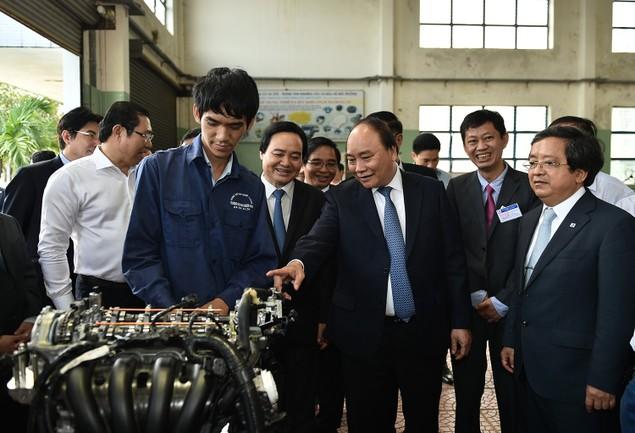 Thủ tướng thị sát Làng Đại học Đà Nẵng - ảnh 2