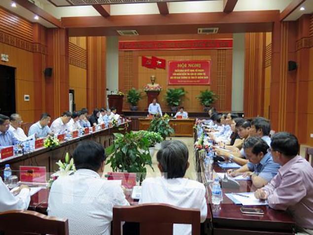 PTT Trương Hòa Bình kiểm tra công tác quy hoạch và luân chuyển cán bộ tại Quảng Nam - ảnh 1