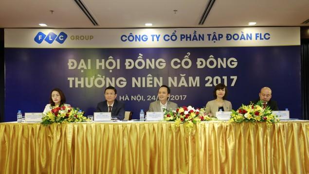 ĐHĐCĐ FLC thông qua kế hoạch lợi nhuận 1.230 tỷ đồng năm 2017 - ảnh 1