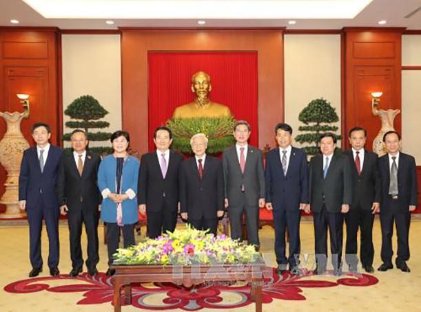 Đưa quan hệ Đối tác chiến lược Việt Nam-Hàn Quốc tiếp tục phát triển mạnh mẽ, hiệu quả - ảnh 1