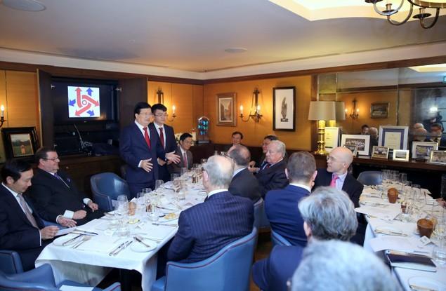Chuyến thăm Anh thành công của Phó Thủ tướng Trịnh Đình Dũng - ảnh 2