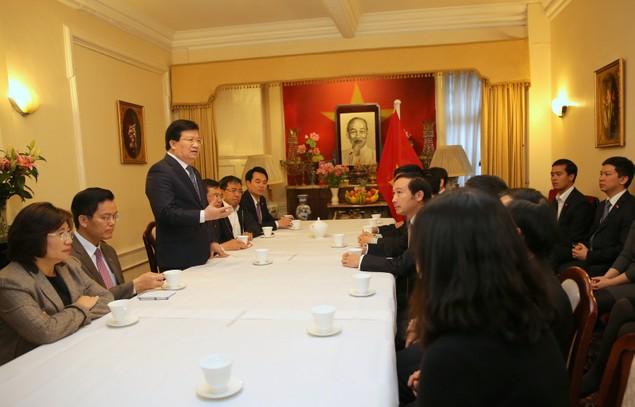 Chuyến thăm Anh thành công của Phó Thủ tướng Trịnh Đình Dũng - ảnh 8
