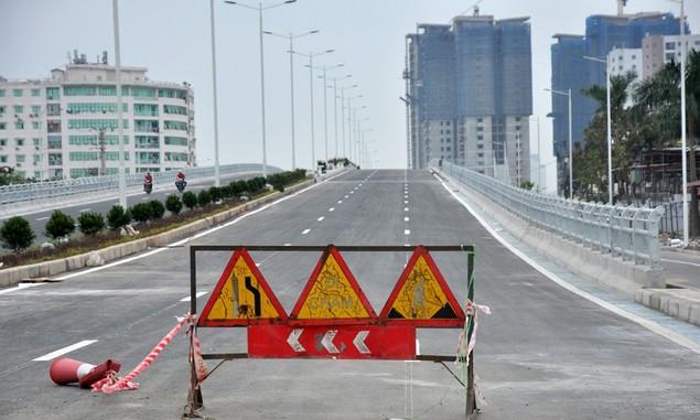 """Tuyến đường """"dát kim cương"""": 3,5km đổi gần 70ha đất ở Hà Nội sắp thông xe - ảnh 9"""