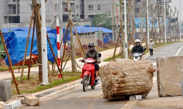 """Tuyến đường """"dát kim cương"""": 3,5km đổi gần 70ha đất ở Hà Nội sắp thông xe - ảnh 10"""
