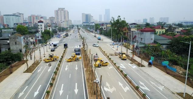 """Tuyến đường """"dát kim cương"""": 3,5km đổi gần 70ha đất ở Hà Nội sắp thông xe - ảnh 11"""
