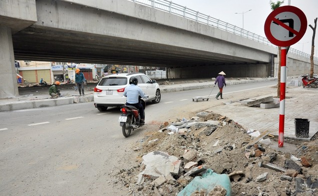 """Tuyến đường """"dát kim cương"""": 3,5km đổi gần 70ha đất ở Hà Nội sắp thông xe - ảnh 12"""