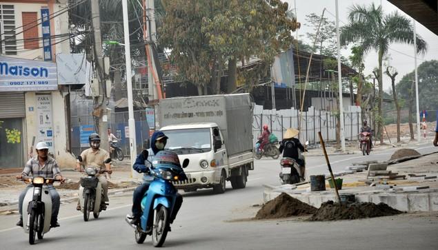 """Tuyến đường """"dát kim cương"""": 3,5km đổi gần 70ha đất ở Hà Nội sắp thông xe - ảnh 13"""