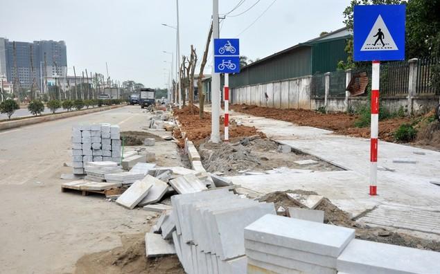 """Tuyến đường """"dát kim cương"""": 3,5km đổi gần 70ha đất ở Hà Nội sắp thông xe - ảnh 14"""