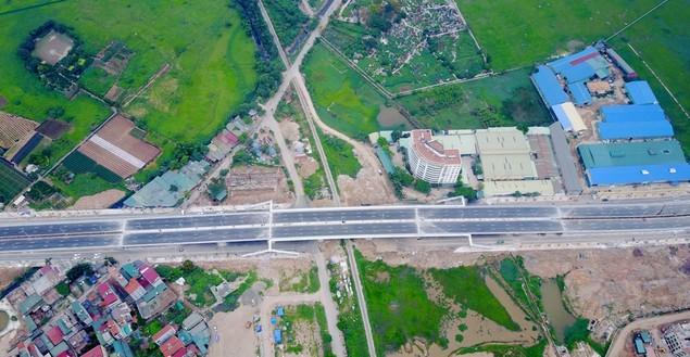 """Tuyến đường """"dát kim cương"""": 3,5km đổi gần 70ha đất ở Hà Nội sắp thông xe - ảnh 3"""