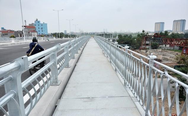 """Tuyến đường """"dát kim cương"""": 3,5km đổi gần 70ha đất ở Hà Nội sắp thông xe - ảnh 4"""