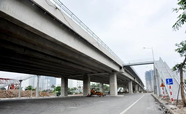 """Tuyến đường """"dát kim cương"""": 3,5km đổi gần 70ha đất ở Hà Nội sắp thông xe - ảnh 5"""