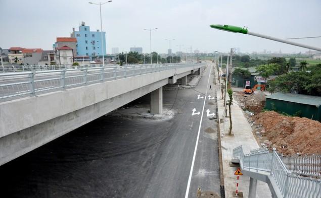 """Tuyến đường """"dát kim cương"""": 3,5km đổi gần 70ha đất ở Hà Nội sắp thông xe - ảnh 6"""