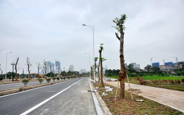"""Tuyến đường """"dát kim cương"""": 3,5km đổi gần 70ha đất ở Hà Nội sắp thông xe - ảnh 8"""