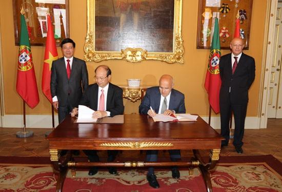 Đẩy mạnh hợp tác kinh tế Việt Nam - Bồ Đào Nha - ảnh 1