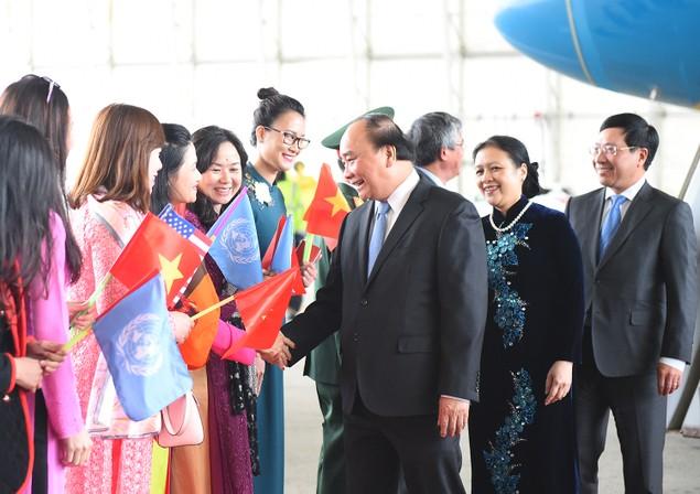 Thủ tướng đến New York bắt đầu chuyến thăm Hoa Kỳ - ảnh 2