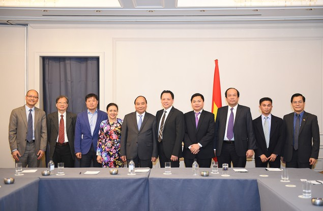 Thủ tướng tiếp một số doanh nhân, trí thức gốc Việt tại Hoa Kỳ - ảnh 1