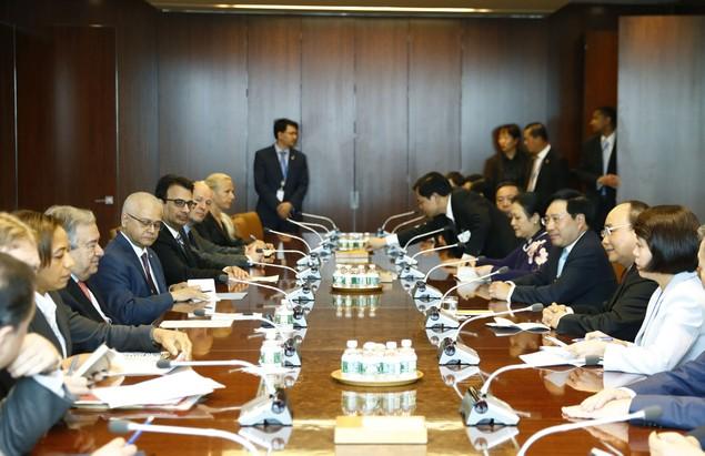 Thủ tướng thăm, làm việc tại Trụ sở Liên Hợp Quốc - ảnh 1