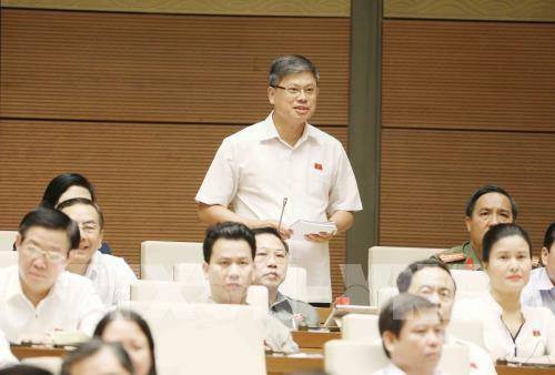 Kỳ họp thứ 3, Quốc hội khóa XIV: Thẳng thắn, xây dựng, đi đến tận cùng của vấn đề chất vấn - ảnh 1