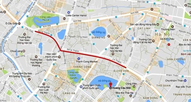 Toàn cảnh tuyến đường sắp mở rộng giá 3,5 tỷ đồng mỗi mét - ảnh 1